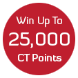 Refer a friend and win up to 25,000 CT Points